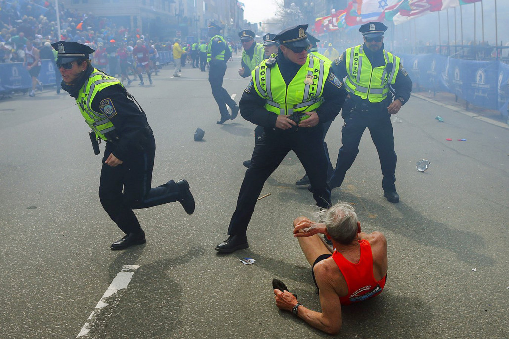 Boston Police Marathon Bombing