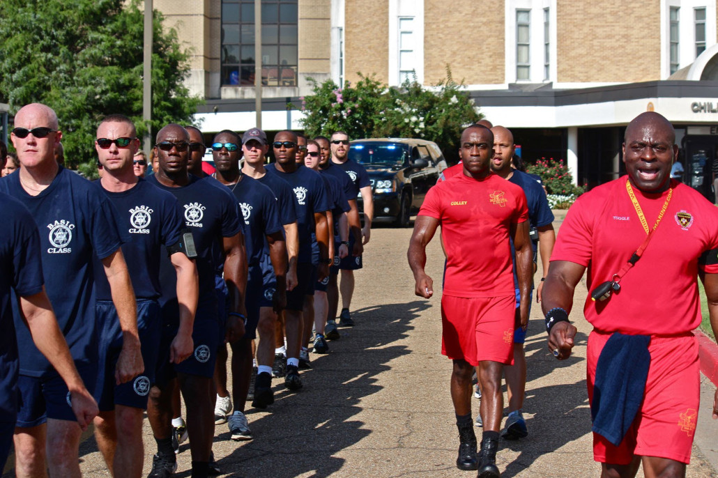 Police Academy Marching